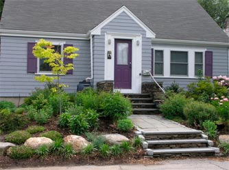 front yard cottage garden ideas